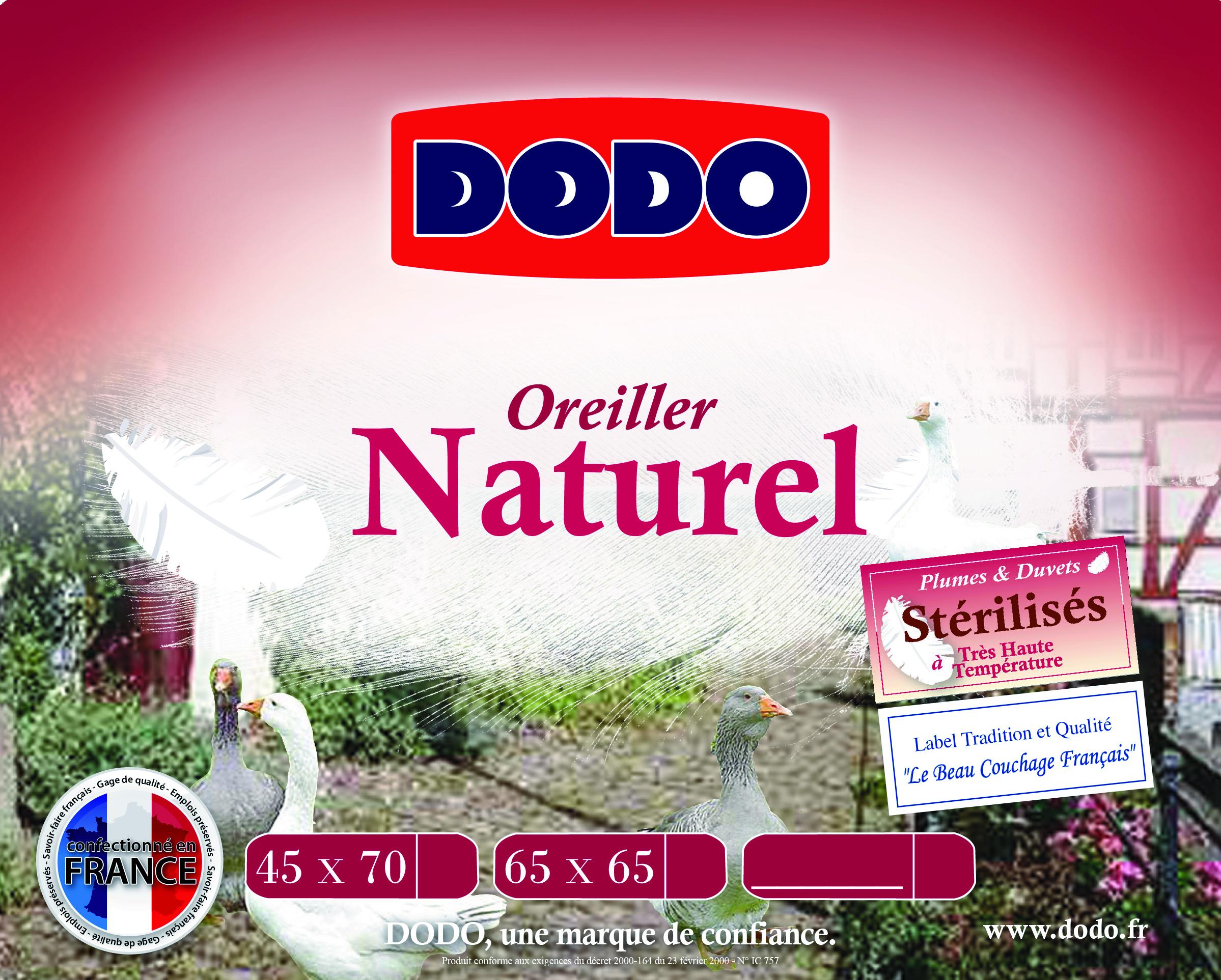 oreiller naturel dodo oreiller naturel oreiller naturel dodo