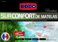 Linge de lit et drap housse de marques prix discount - Surconfort de matelas luxe dodo ...