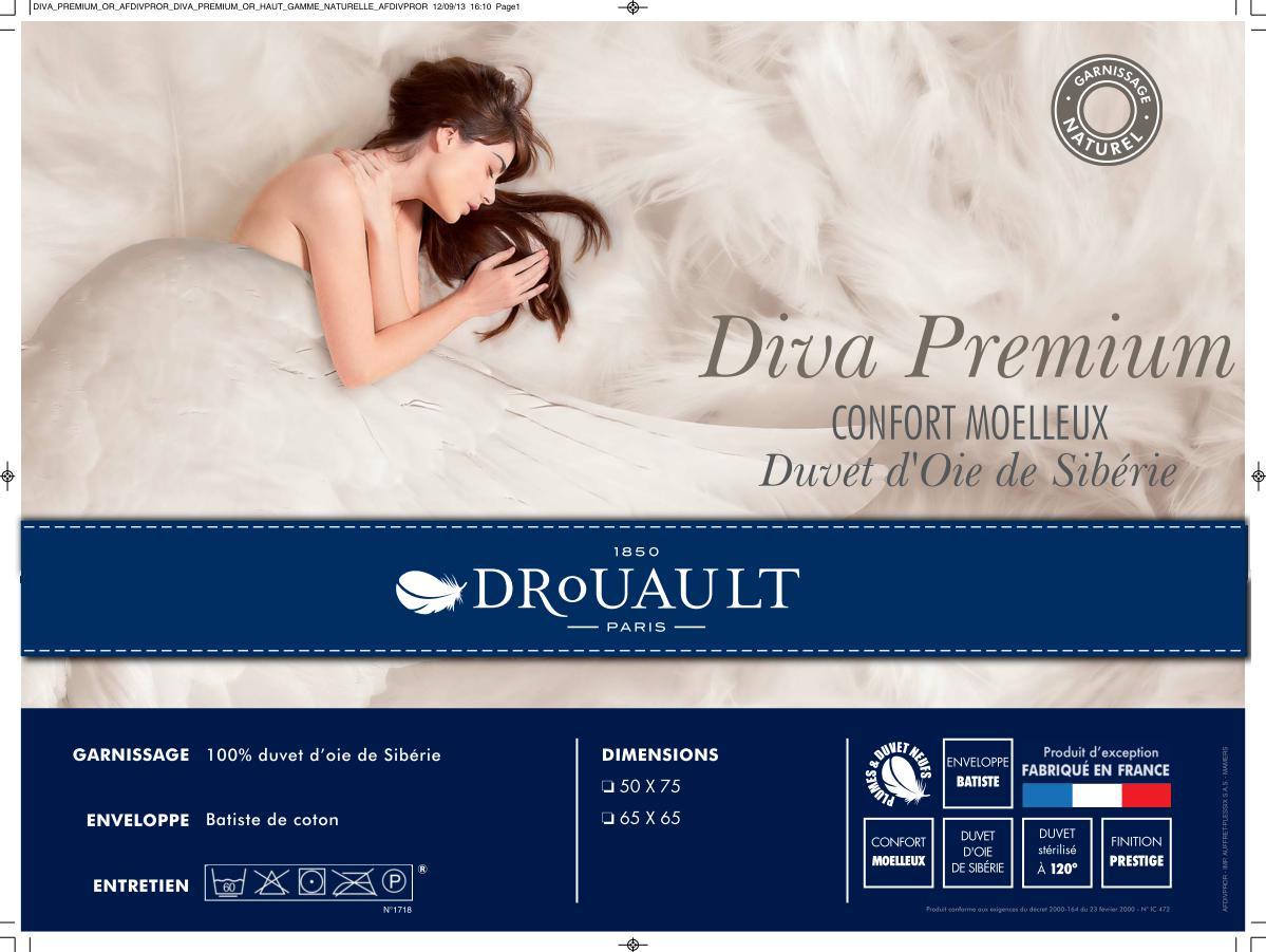 Couette 100 Duvet D Oie De Siberie Diva Light Drouault