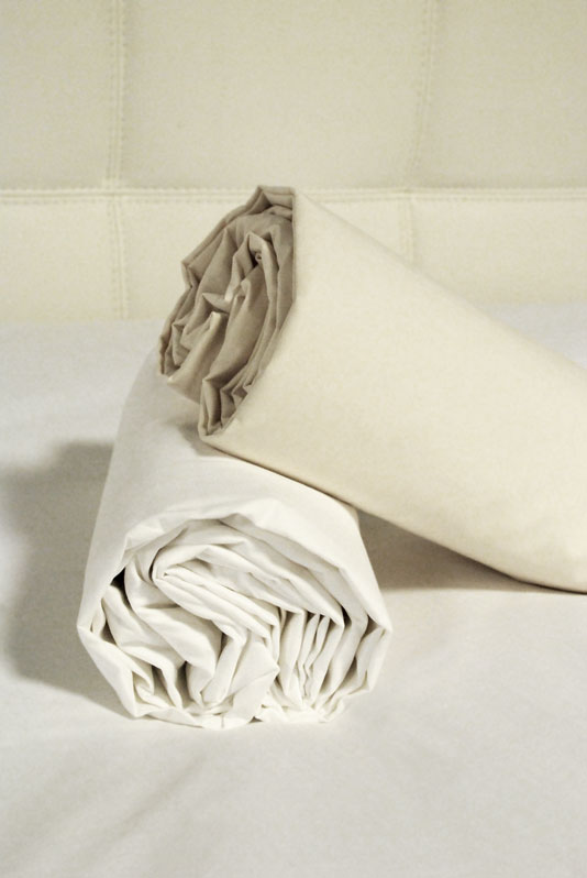 Drap housse 160x200 percale coton grands bonnets 30 cm - Drap housse grand bonnet 30 cm ...