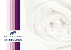 Drap housse 180x200 grand bonnet 40 cm satin de coton