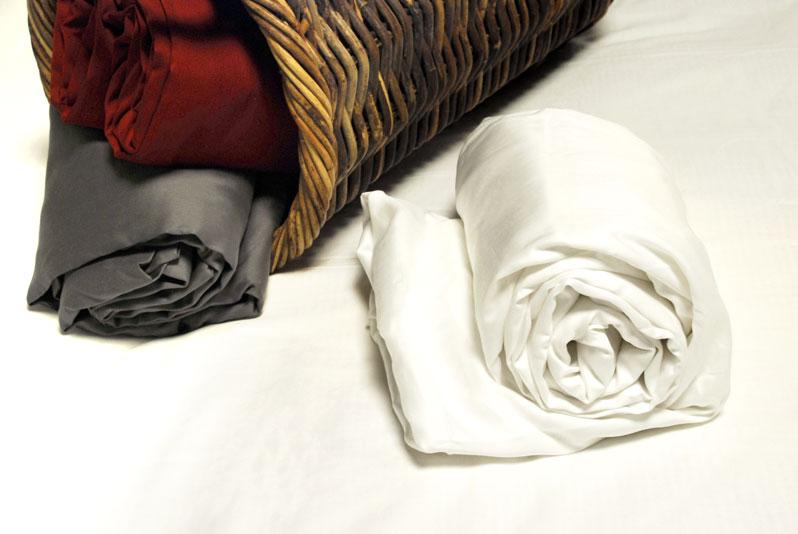 drap housse satin de coton 160x200 grands bonnets 30 cm. Black Bedroom Furniture Sets. Home Design Ideas