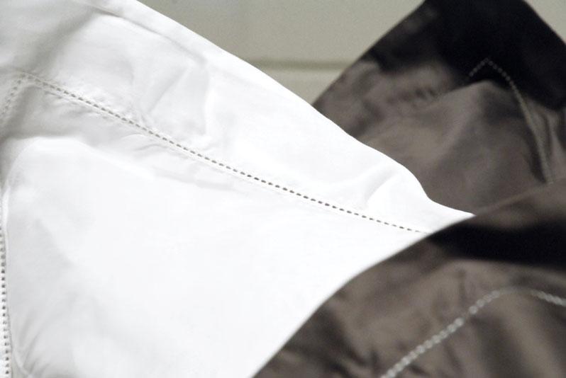 drap plat uni satin de coton 120 fils cm. Black Bedroom Furniture Sets. Home Design Ideas