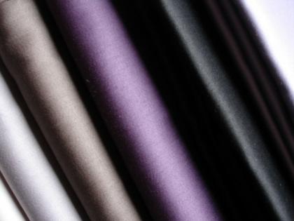 drap housse uni satin de coton 120 fils cm2. Black Bedroom Furniture Sets. Home Design Ideas
